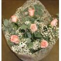 Lois - 6 rosas de tallo largo